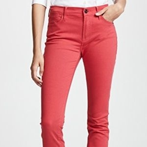 FRAME | NWT Le High Skinny in Vintage Red Sz 25